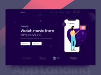 App Landing Page Banner