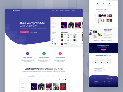 WebApp & Saas Landing Page dashboard apps app landing page isometric illustration app landing web application web app modern clean creative landing web design saas landing page saas webapps website web landing page