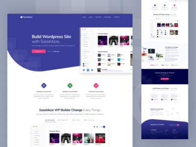 WebApp & Saas Landing Page