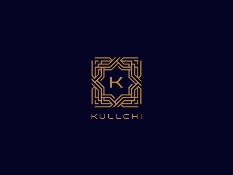 Kullchi Logo monoline abstract logo