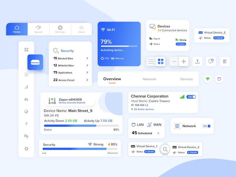 React Application UI Component download ui design uidesign system ui react ratings progress bar profile material icons grids graphic form font field components library component clean calendar