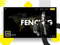 Fencing Landing Page