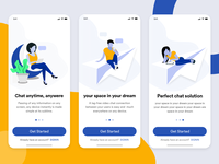 chat onboarding illustration