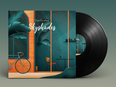 Skyshades Cover Artwork adobe architecture illustrator flat vectorillustration design vector modern graphic design illustration