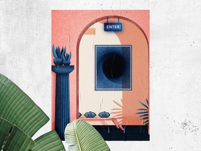 Art Gallery adobe architecture illustrator flat vectorillustration design vector modern graphic design illustration