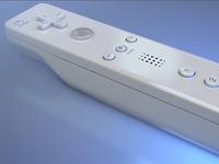 3D Wiimote Render
