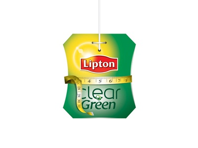Lipton Green Tea Icon 02 lipton icon design adv identity