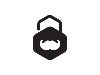 Security icon design security identity