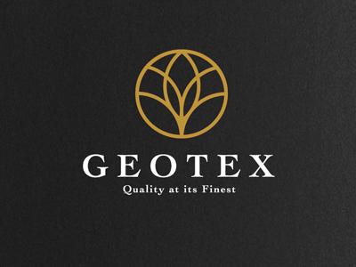 Geotex Logo logo company food fresh