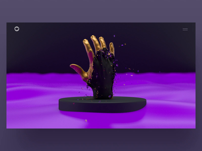 Golden Promo Page Animation