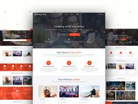 Listing Hub Home Pages