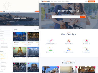 Travel Stock - creative tour travel agency template