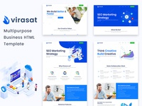 Virasat -  Multipurpose Business Html Template