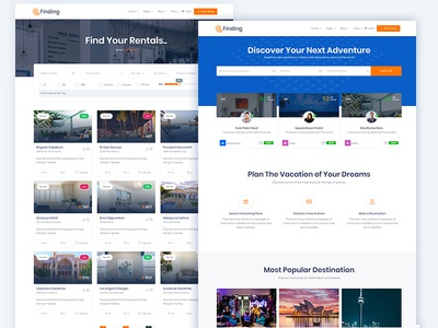 Finding - Most Powerful Directory & Business Listing Template