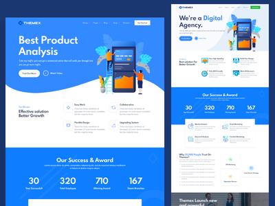 Themex - Multipurpose Business & Corporate HTML Template