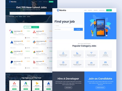 Workio - Job Board HTML Template