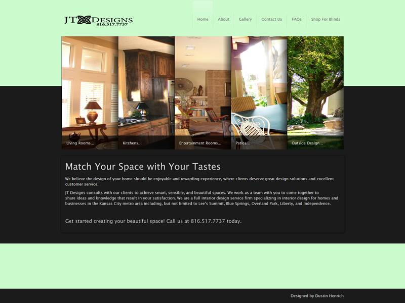 Jt Designs Inc Of Kansas City Interior Design In The Greater By