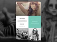 Single page design