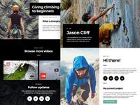 Jason - Personal landing page template