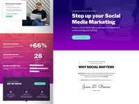 Digital Agency layout for Elementor Page Builder