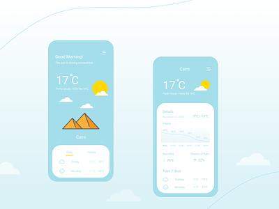 UI challenge 37 : Weather weather app weather design ui mobile app figma dailyui challenge ui design ui challenge