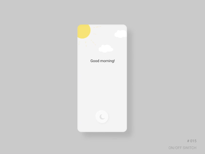 UI challenge 15: ON/OFF switch on off switch on off daily daily 100 challenge dailyuichallenge app figma dailyui ui design challenge ui challenge