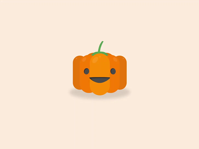 Halloween Pumpkin - Dark/Light mode halloween pumpkin pumpkin halloween createwithadobexd uidesign vector cute animation microinteraction autoanimate adobexd
