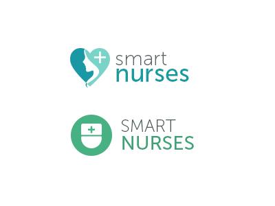 Logo-smartnurses logo vector flat color medical nurse