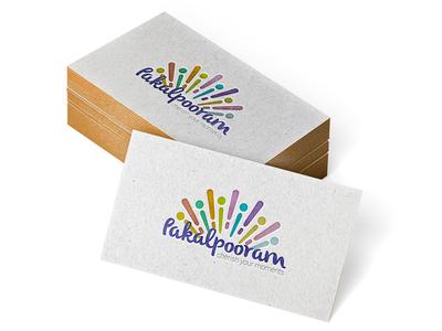 Pakalpooram Logo logo vector flat color entertainment colorful branding