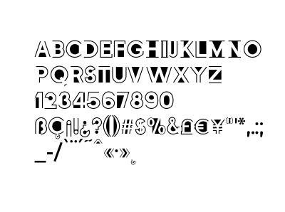Altozano Typeface
