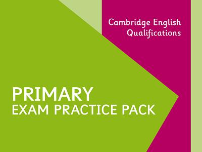 Primary Exam Practice Pack cover design art direction artwork graphic art graphic design design