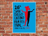 San Diego Latino Film Festival Poster (2019 Proposal)