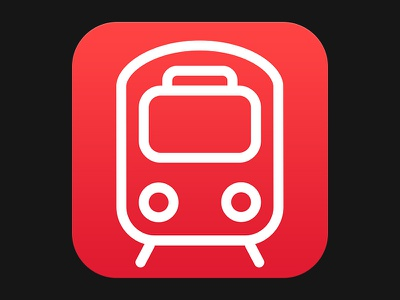Transit App Icon transit app icon train maps