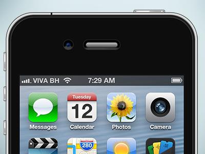 iPhone PSD  iphone psd apple 4s resource 4