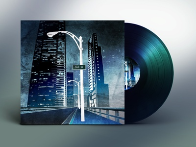 Niall Murphy - 3rd St cyberpunk 2077 cyberpunk design pop art brutalism product design branding design photography branding illustration graphic cover art vynil music album