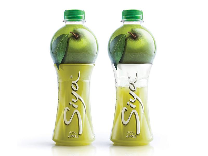 Siya / Beverage Packaging juice apple design idustrial packaging siya