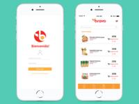 Bravo supermarket App