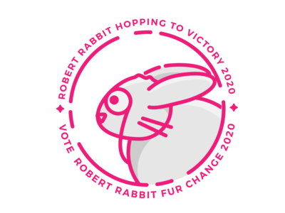 Rob the Rabbit Campaign Logo