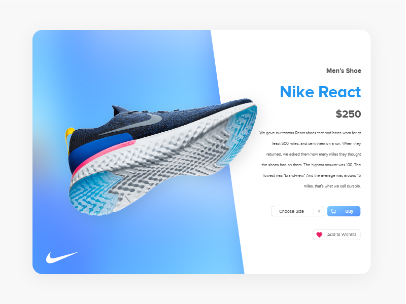 Shopping cart nike by fadly dribbble 6 nike react publicscrutiny Gallery