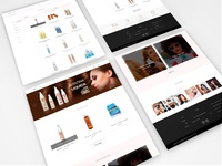 E-commerce Website Beauty To Go