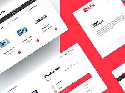 Piersan Centroamericana pharmaceutical logo designer brand web webdesign guatemala ui ux website design