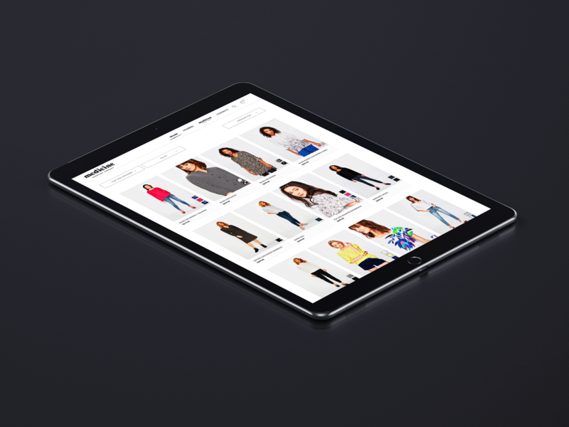 Wearmet Catalogue clothing webdesign minimalist white catalogue ecommerce web ui ux guatemala website design