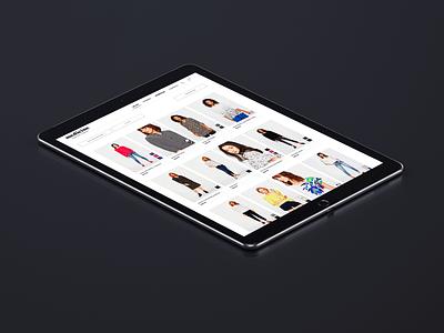 Wearmet Catalogue clothing webdesign minimalist white catalogue ecommerce web ui ux guatemala website design