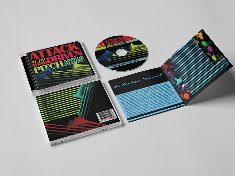 Packaging Design Album | 99 Series vector illustration branding minimal colorful groove booklet cd packaging design cover album jazz