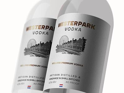 wine bottle label mockup vector typography logo icon design netherlands holland minimal emboss folio beverage vodka bottle label design alcohol