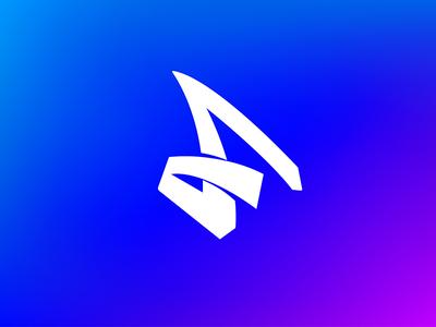 Personal  Logo blue s f monogram personal logo