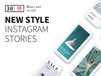 New Style Instagram Stories templates stories instagram clean minimal modern