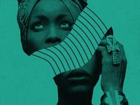 Erykah Badu poster for ATL Collective