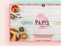 Papi's Cuban Grill Website