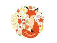 Little Fox in Autumn
